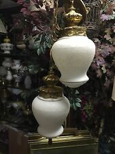 Vintage Antique  Frosted Glass Ornamental Ceiling Lamp Chandelier Pendant Swing
