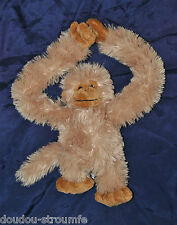 Peluche Doudou Singe Beige Jungolo From Africa Scratch Pieds Mains 22 Cm NEUF