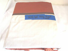 Brown & Tan KING SIZE DUVET COVER~NEW