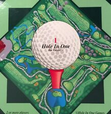 HOLE IN ONE The Game Play Golf Game Gold Board For Golf Lover 1998 NEW
