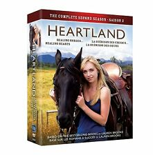 HEARTLAND SEASON 2 (5 DVD SET) - NEW - REGION 1 USA/CANADA - Amber Marshall