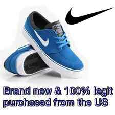 Nike SB STEFAN JANOSKI Women's SIZE 8.5 - BLUE WHITE Skateboard Shoes Skate BMX