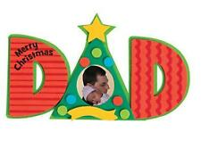 1 Dad Photo Frame Magnet Craft Kit Christmas Great Gift or Class project