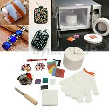 10Pcs/Set Stained Glass Fusing Supplies Professional Microwave Kiln Tool Kit