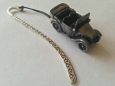 "Austin 7 ""Chummy""  ref13 FULL CAR on a Pattern bookmark with cord"