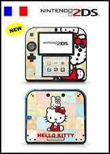 SKIN STICKER AUTOCOLLANT DECO POUR NINTENDO 2DS REF 71 KITTY