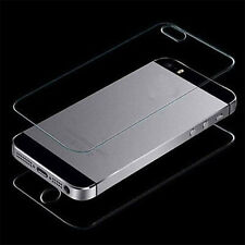 Waterproof Tempered Glass Film Screen Protector Front+Back For iPhone 5 5S SE