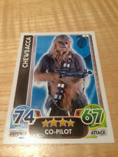 STAR WARS Force Awakens - Force Attax Trading Card #004 Chewbacca