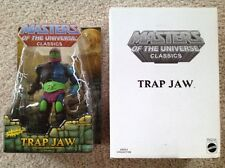 Masters Of The Universe Classics MOTU He-Man TRAP JAW 1st Edition MOC