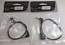 RC Logger 89058RC JR Mono Plug Trainer Cable (Set of 2)