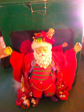 """Fabriche'"" Santa Sculpture ""FATHER CHRISTMAS""-2002, ""Little Seeds Inc. KSA"