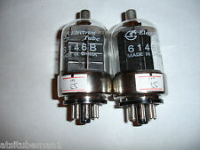 6146B tubes matched pair new with warranty ham radio output new