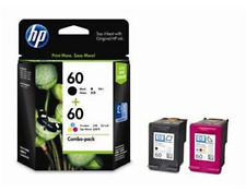 HP 60-COMBO BLACK & TRICOLOUR INK CARTRIDGE Save Money Fast Drying Lasting Print