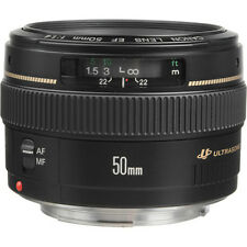 NEW Canon EF 50mm f/1.4 USM Autofocus Lens for Digital SLR Canon Cameras