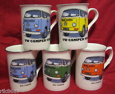 1 VW CAMPER VAN car English Fine Bone China Mug  Cup