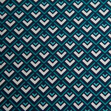 Michael Miller Fabric CX6327-Teal-D Deco Geo BTY