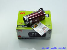 JVC EVERIO GZ-E205 CAMCORDER BOXED SD / SDHC CARD HD DIGITAL HIGH DEFINITION