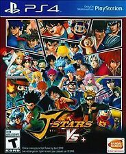 J-Stars Victory Vs+ RE-SEALED Sony PlayStation 4 PS PS4 GAME VS