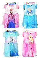 Disney Princess Frozen Elsa Anna Cinderella Girls Kids Fancy Dress Up Costume