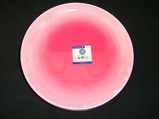 Fizz Strawberry Colored Glass Salad Desert Plates Luminarc Case of 12 116026