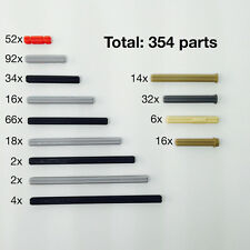 Lego Technic Connector Cross Axle, Rod, Krydsaksel - New Genuine 354 Parts