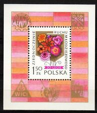 Poland - 1978 30 years youth society - Mi. Bl. 72 MNH