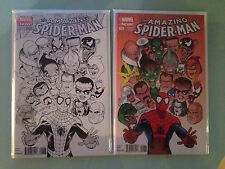 AMAZING SPIDERMAN #1 2014 KEVIN MAGUIRE COLOR & SKETCH VARIANT Brave New Worlds
