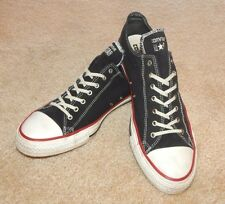 CONVERSE NAVY BLUE ALL-STARS (Women's 13 Men's 11) ~ WHITE SOLES