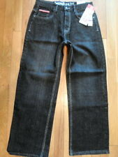 NWT ECKO UNLTD 31x28 Dark Wash, Relaxed Fit Jeans (also boys size 18) (P-M-748)