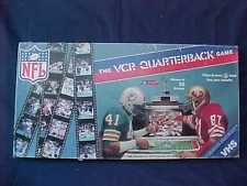 1986 NFL The Football VCR Quarterback Board Game 100% Complete