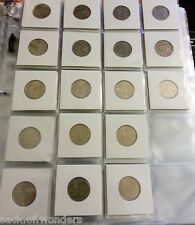 ( 11 ) 20-Pockets 2x2 Coins Currency Holders Inserts  Sleeves Collector Pages
