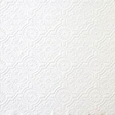 "12""/31cm Wallpaper SAMPLE Ornate Ceiling Tile Paintable"
