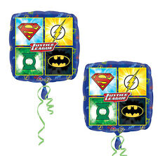 2ct~Justice League Super Heroes Foil Balloons Birthday Decoration Party Supplies
