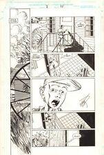 Savage Dragon #2 p.20 - Kid Finds Dead Body - 1993 art by Erik Larsen