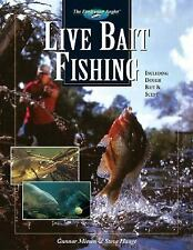 Live Bait Fishing: Including Doughbait & Scent (The Freshwater Angler)-ExLibrary