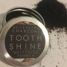 2 x CarboCare Tooth Shine™ Organic Activated Charcoal Coconut Whitening Powder