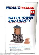 HO Scale Walthers Trainline 931-906 Water Tower and Shanty Kit
