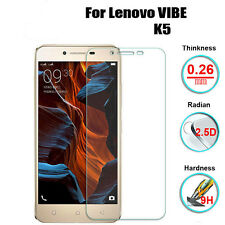 9H Real Premium Tempered Glass Screen Protector Guard For Lenovo VIBE K5