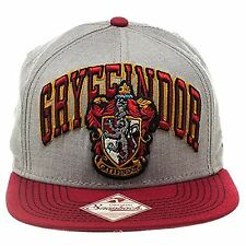 Official Harry Potter Gryffindor Crest Logo Snapback Cap Hat