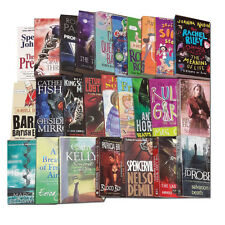 Joblots Wholesale of 25 Fiction Books Collection Set, Thrillers Stories Pack