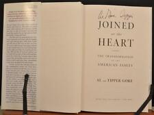 Autographed Hand Signed Book Al Tipper Gore Joined at the Heart Vice President
