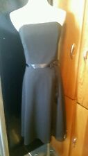 Jessica mcclintock Bridal size 8 strapless knee length bridesmaid dress