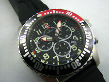 ZENO WATCH Airplane Diver Quartz Chronograph
