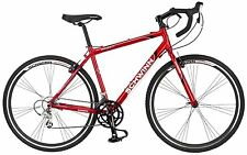 56 cm  road bike bicycle  mens schwinn red entry level carbon fiber fork