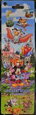 152 STICKER BOOK~Princess+PIXAR+Mickey~10 Pages~NWT~Disney Parks Authentic STAMP