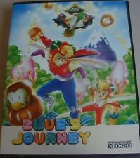 BLUE'S JOURNEY GAME NEO GEO AES SYSTEM CIB COMPLETE INSERT DAMAGED