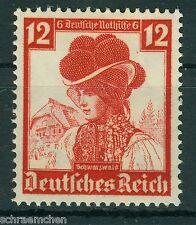 Deutsches Reich , 593 , ** , Nothilfe 1935