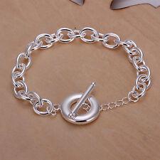 Damenarmband Ankerkette 8mm breit Damen Armband pl. mit Sterlingsilber DA090 Neu