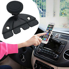 Universal Car Cd Player Slot Magnetic Mount Holder For Cell Phone GPS Credible *