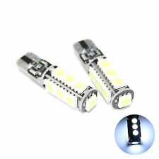 2x Blanco 13-smd Led Canbus [ 501, W5w, T10 ] 12v lado light/interior Bombillas
